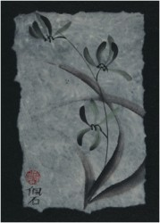 wild orchids card