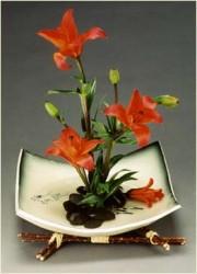 nested ikebana